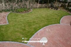 Tuin organisch lijnenspel